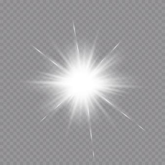 輝く光の効果