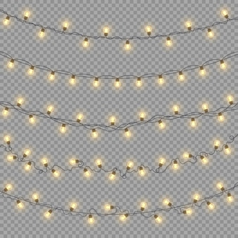 Glowing lights illustration