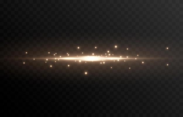 Светящаяся линия света волшебное свечение частиц световых искр светящаяся линия png векторное изображение