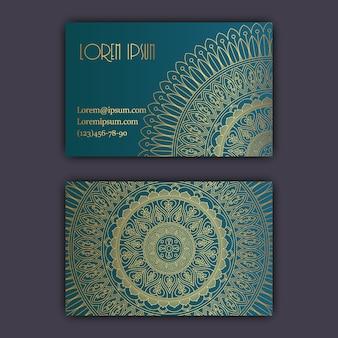 輝く花の曼荼羅の模様や装飾品。ラグジュアリーデザイン。
