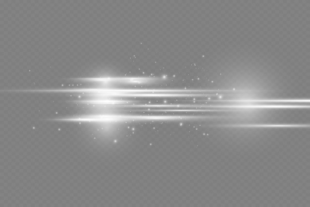 透明レンズフレア効果に適した白く光る抽象的なライン明るい光を使用することができます...