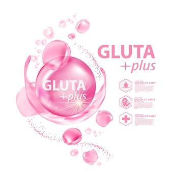 グルタコラーゲン美容液スキンケア化粧品