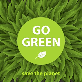 Go green concept. sustainable environment, saving environmental sustainability in ecosystem, international day of forest, world forestry day and csr.