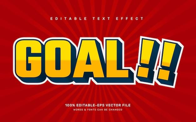 Текстовый эффект цели