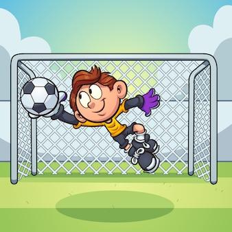 Goalie boy