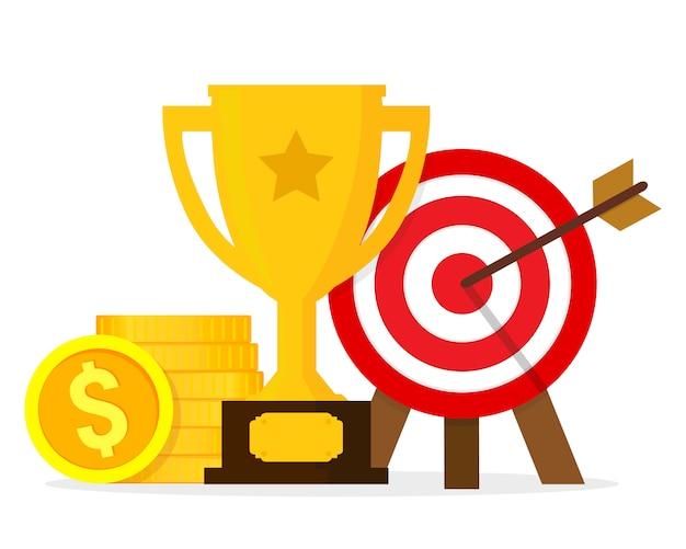 Goals and achievements composition