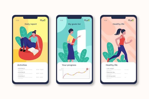 目標と習慣の追跡アプリケーション
