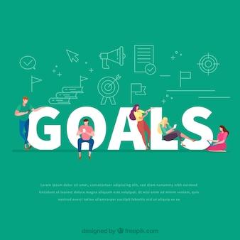 目標の単語のコンセプト