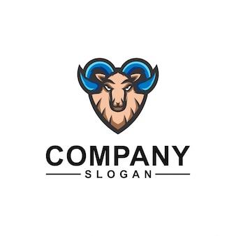 Дизайн логотипа козла