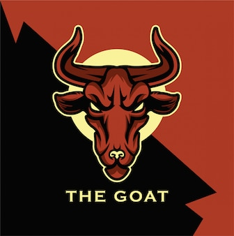Goat logo mascot