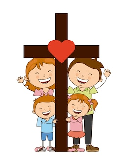 신과 가족 디자인