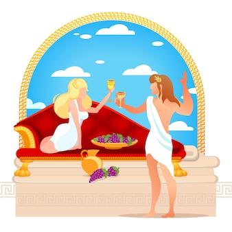Бог винограда, виноделия и виноделия дионис