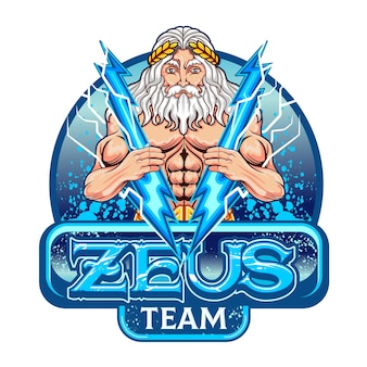 The god zeus who symbolizes victory