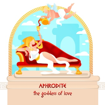 Goddess of love, beauty and passion aphrodite