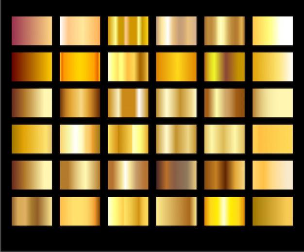 Золотой фоновой текстуры. легкий, реалистичный, элегантный, блестящий, металлический и золотой градиент