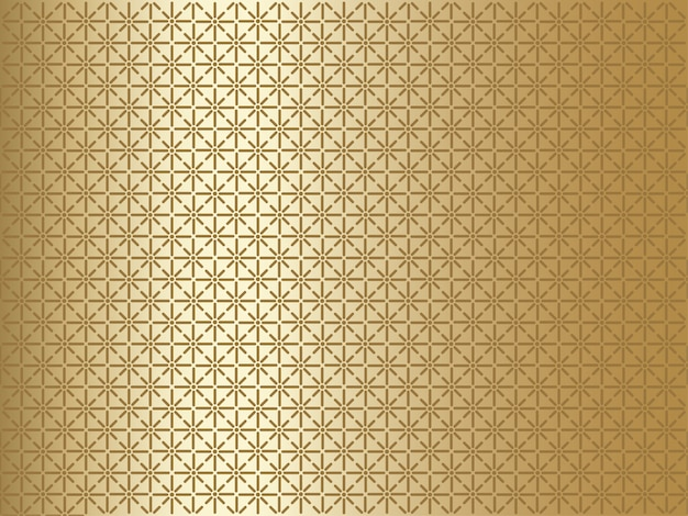 Gold background with geometrical pattern