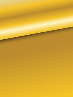 Gold background.