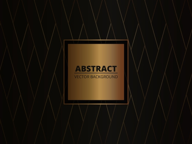 Gold and black luxury abstract background.