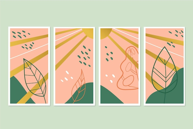 Goldbotanical cover collection template