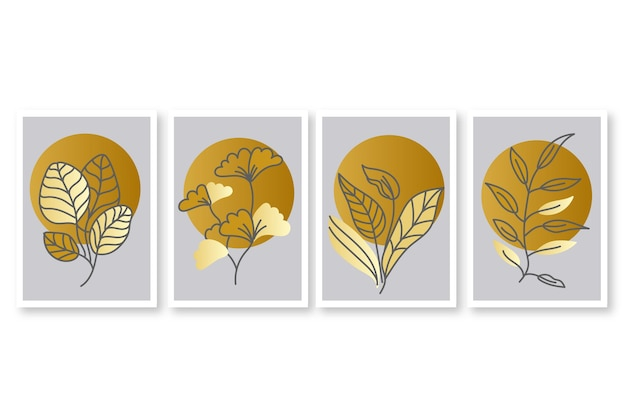 ゴールドボタニカルカバーコレクション