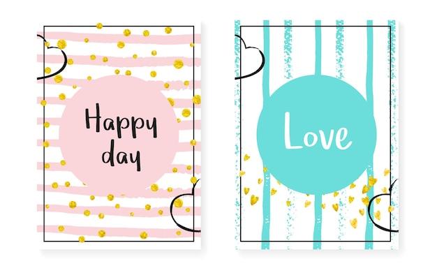 Gold chic border. pink nursery painting. engagement particles set. white branding starburst. turquoise birthday print. stripe magic textile. mint element. golden gold chic border Premium Vector