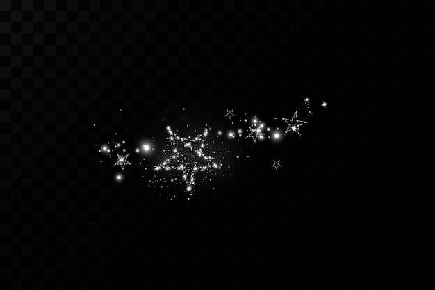 Золотая новогодняя звезда роскошное украшение пыль