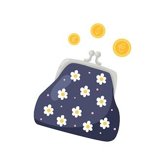 ゴールドコインモダンな財布