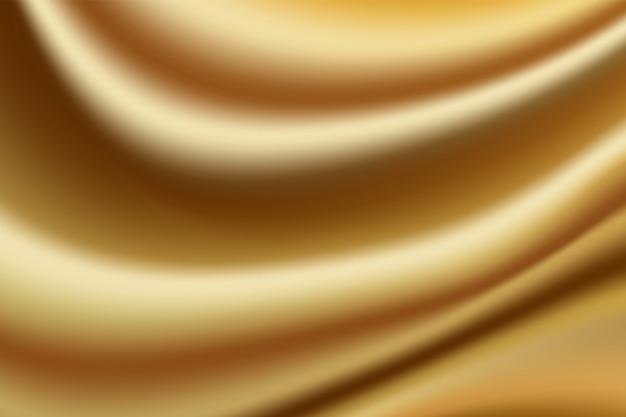 Золотой цвет ткани текстуры абстрактный фон