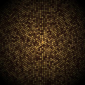 Gold disco glitter background.