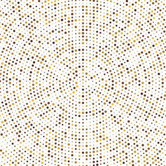 Gold disco glitter background. Premium Vector