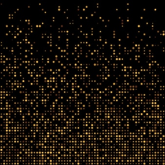 Gold disco glitter background.