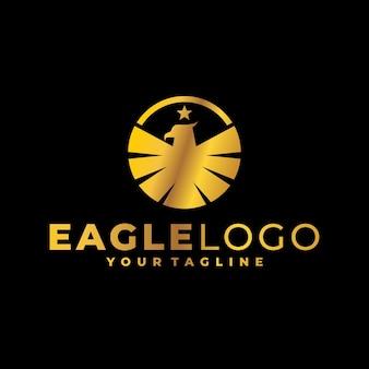 금 독수리 로고
