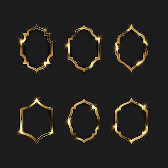 ゴールドフレームの枠線