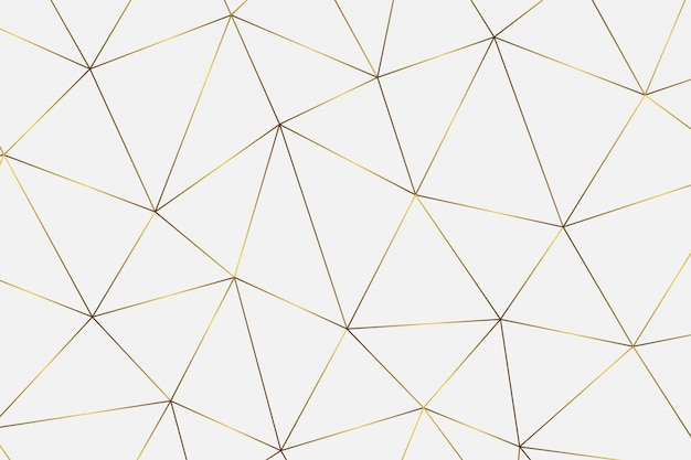 Gold geometric abstract pattern.