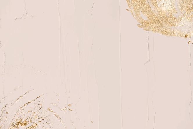 Priorità bassa di struttura pastello decorata glitter oro