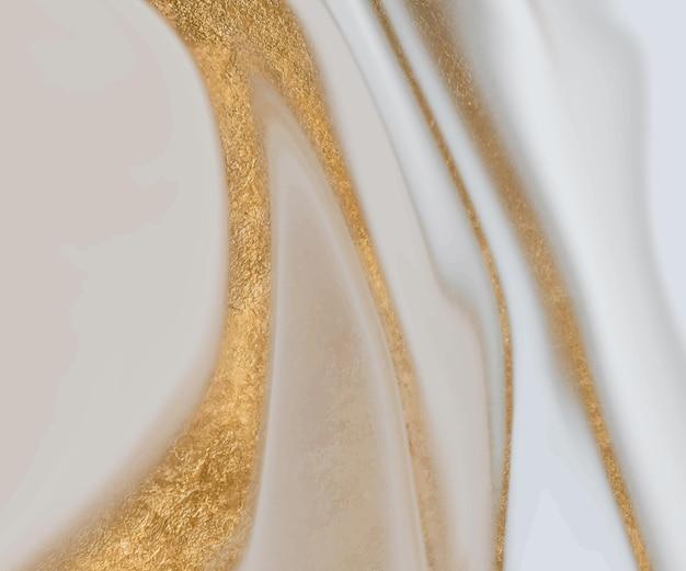 Золотой блеск жидкой абстрактной текстуры