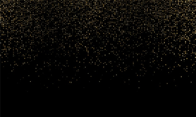 Gold glitter texture. golden abstract particles.