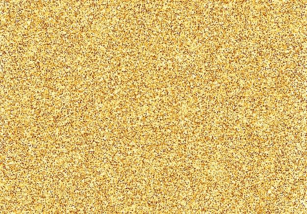 Золотая блестящая текстура сверкающая блестка мишура желтый шик