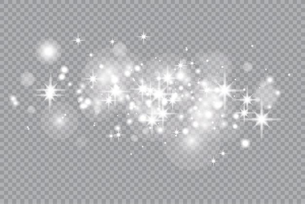 Звезды золота с эффектом свечения