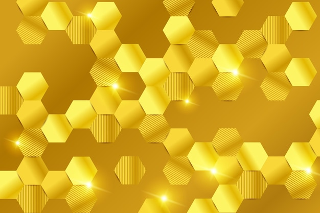 Gold luxury background concept