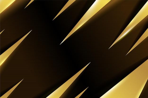 ゴールドの豪華な背景デザイン