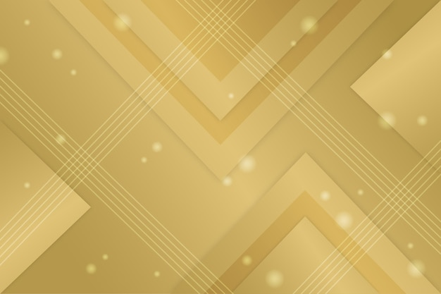 Gold luxury background with triangles