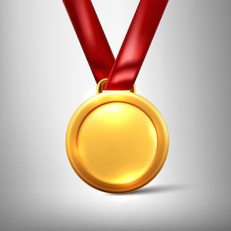 Gold medal illustration