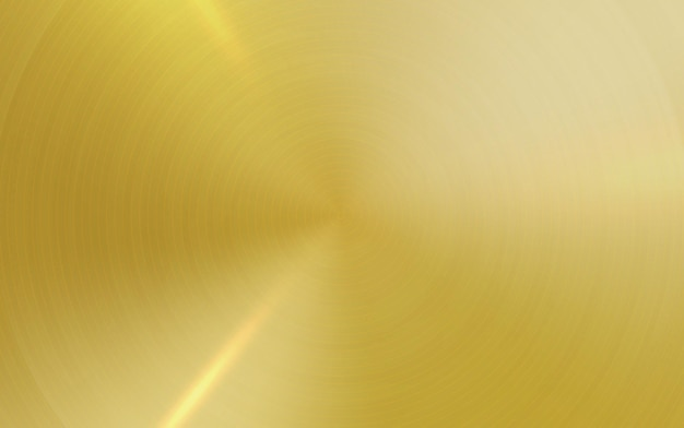 デザインコンセプトのウェブポスターインターフェースのためにテクスチャード加工されたゴールドメタルテクスチャ背景起毛面