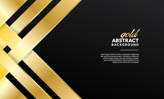 Золотой современный абстрактный фон дизайн