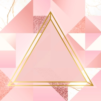 Gold and pink background