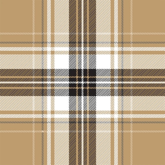 Gold platinum checkered plaid seamless pattern