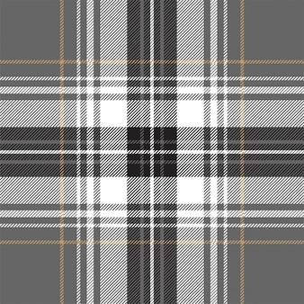 ゴールドプラチナ格子縞格子縞のシームレスパターン