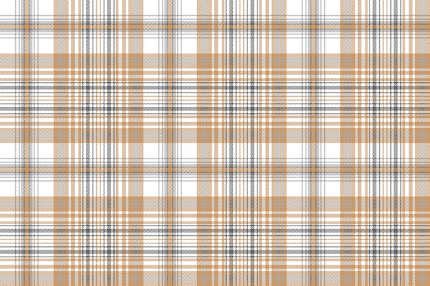 Gold and platinum color check plaid seamless pattern