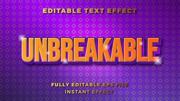 Золотой фиолетовый гламурный текстовый эффект